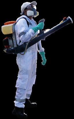Servicios de control de plagas y desinfección