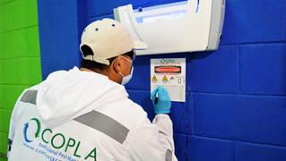 Servicio control de plagas insectos voladores y rastreros