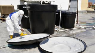 Servicio desinfección y limpieza de tanques
