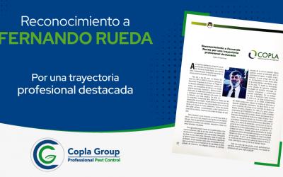 Reconocimiento a Fernando Rueda por una trayectoria profesional destacada